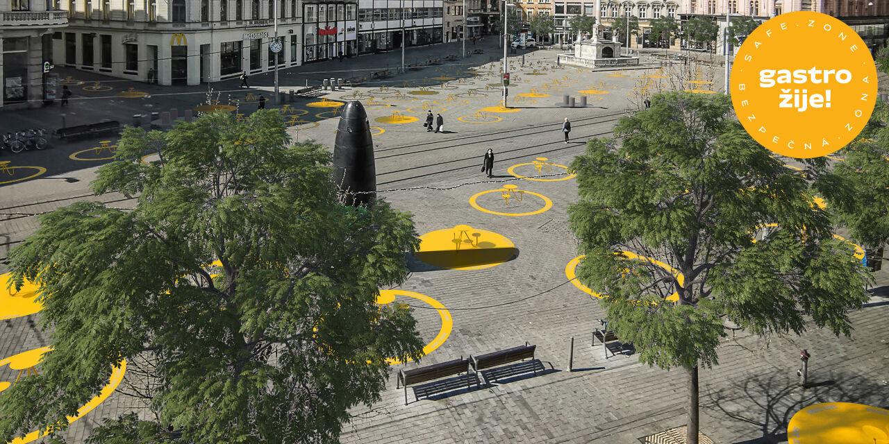 Grid Plan for Public Space Defines Safe Zones