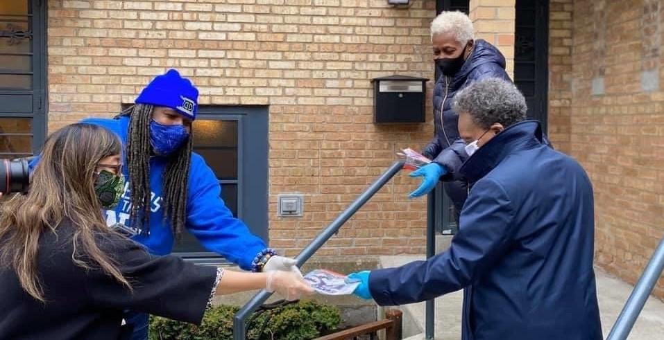 Masks for Chicago Public Housing Residents