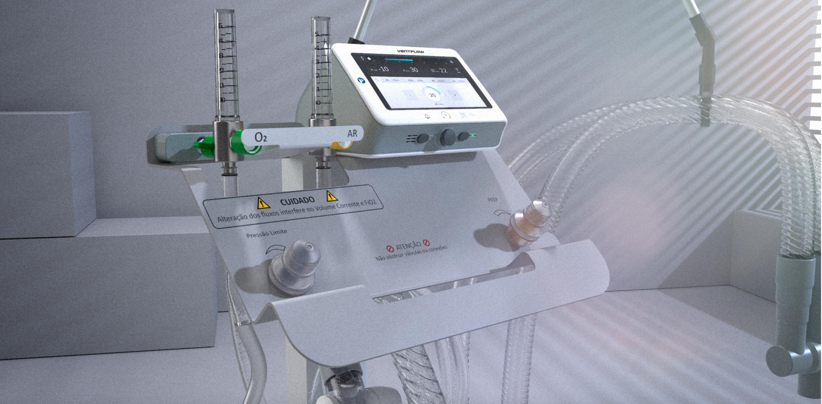 A Ventilator for COVID-19 in Brazil