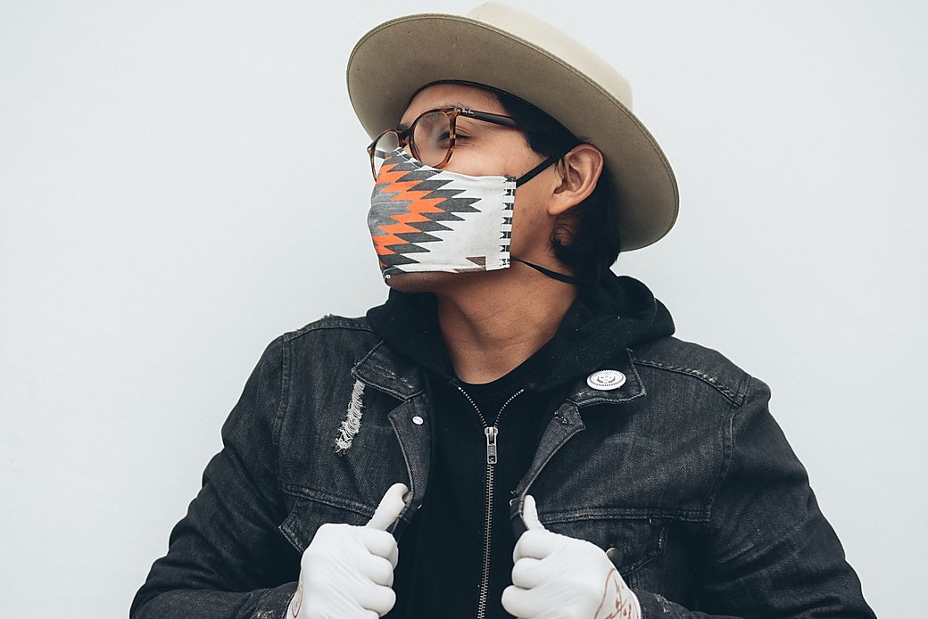 Native Masks to Support the Navajo Nation