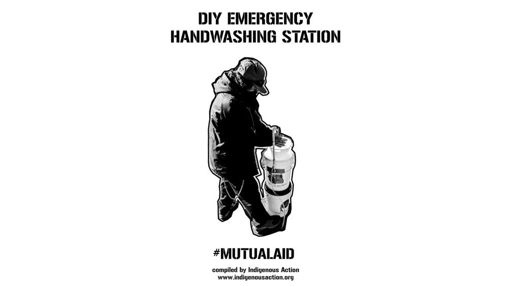 DIY Emergency Handwashing Station