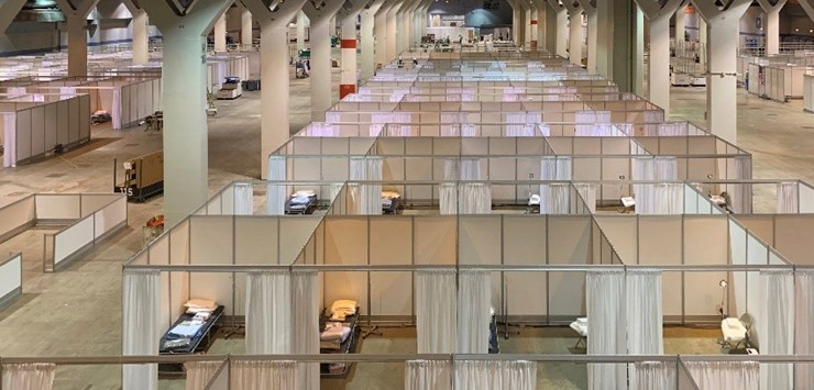 Stantec to convert McCormick Place Convention Center into temporary hospital in US