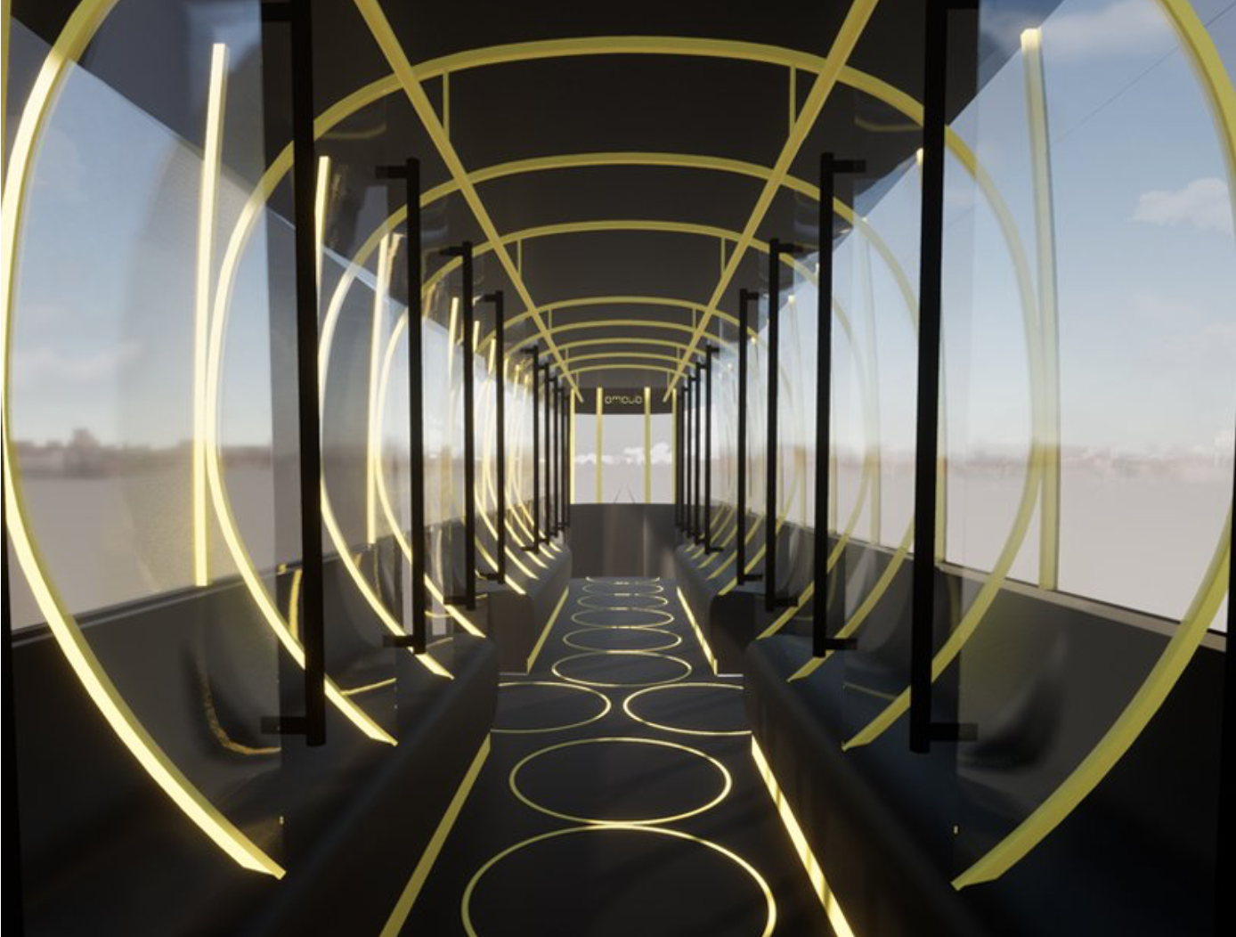 Socially-Distant Tram for Milan
